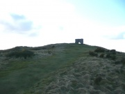 The summit of Dunnideer Hill and the remains of the castle