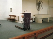 Lectern / pulpit station