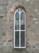 One of the north-east gable's windows