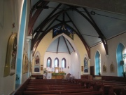 View of the nave and chancel