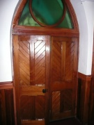 One of the internal doors