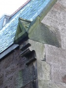 Gabletted skew-ends on the west gable