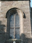 View of a window on the east elevation