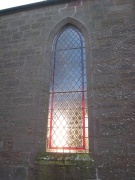 One of the nave windows