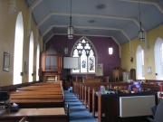 Interior looking North