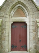 The main south doorway
