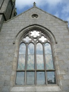 Large south-east window