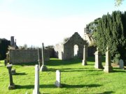 The graveyard surrounding Newburn Old Parish Church. Image: Kirsty Owen (October 2007)  Image ID: s8137_11.JPG