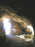 Entrance and outer cave
