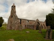 South elevation of St. Magridin's Church at Abdie. Image: Kirsty Owen (June 2007)  Image ID: s870_05.JPG