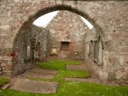 Interior of the north transept of St. Magridin's Church at Abdie. Image: Kirsty Owen (June 2007)  Image ID: s870_13.JPG