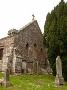 East elevation of St. Magridin's Church at Abdie. Image: Kirsty Owen (June 2007)  Image ID: s870_07.JPG