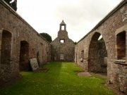 Interior of of St. Magridin's Church at Abdie looking west. Image: Kirsty Owen (June 2007)  Image ID: s870_10.JPG