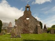 West elevation of St. Magridin's Church at Abdie. Image: Kirsty Owen (June 2007)  Image ID: s870_04.JPG