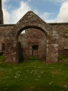 South porch of St. Magridin's Church at Abdie. Image: Kirsty Owen (June 2007)  Image ID: s870_12.JPG