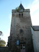 West elevation of the tower of the Anstruther Church. Image: Kirsty Owen (October 2007)  Image ID: s889_04.JPG