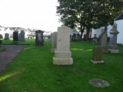 Graveyard of the Anstruther Church. Image: Kirsty Owen (October 2007)  Image ID: s889_31.JPG