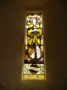 Stained glass chancel window